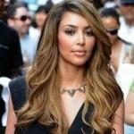 New Ombre Look Kim Kardashian
