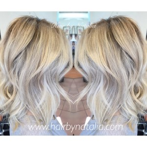 Blonde Balayage highlights. Best Hairstylist Denver. Best hair salon Denver