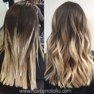 Balayage hair Denver