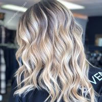 Balayage color Denver