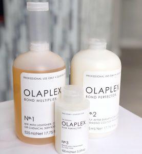 Olaplex Hair Salon in Denver.  Olaplex Hair treatment.