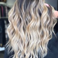 Blonde Balayage Hair Denver