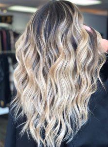 Blonde Balayage Hair Denver