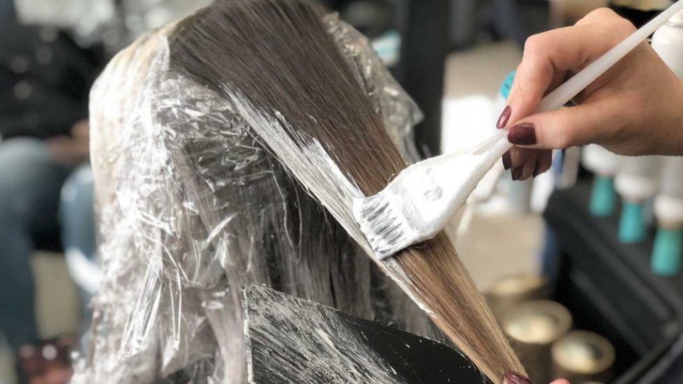 Balayage highlights. Balayage specialist in Denver