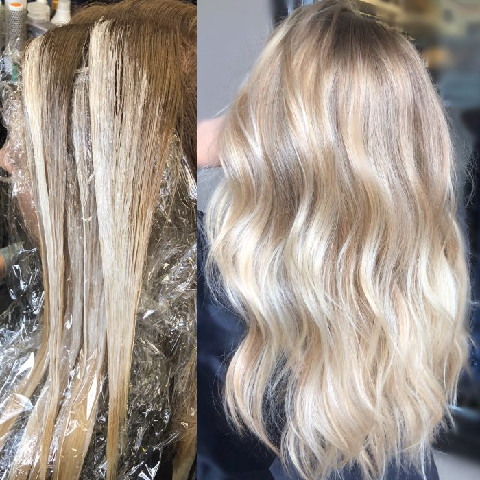 Balayage hair color. Balayage spesialist in Denver