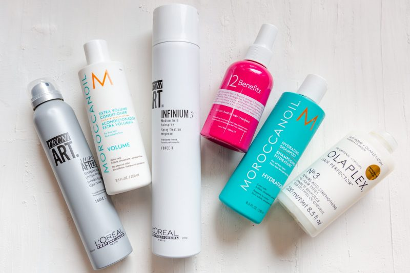 Best hydrating products for blonde balayage