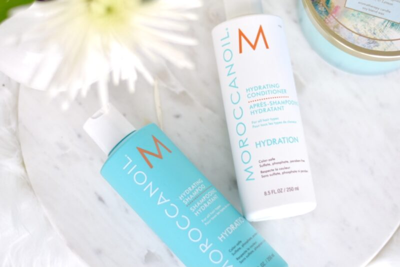 Hydrating shampoo and conditioner for dry hair